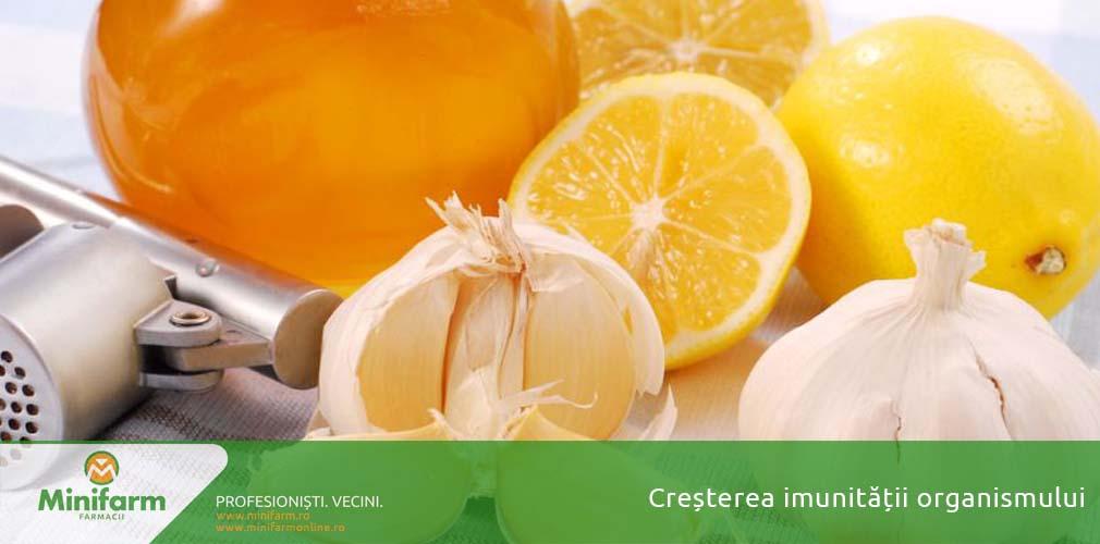 Cresterea imunitatii organismului