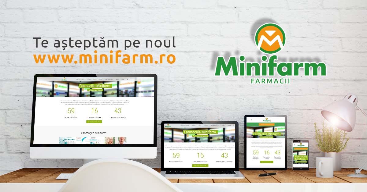 Am lansat noul site minifarm.ro!