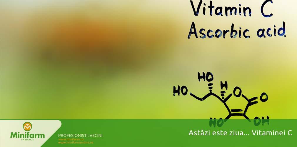 Astăzi este ziua… Vitaminei C