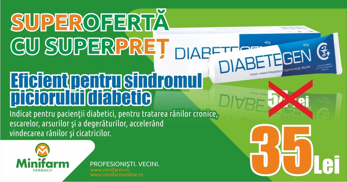 Super-ofertă cu super-preț la Diabetegen!