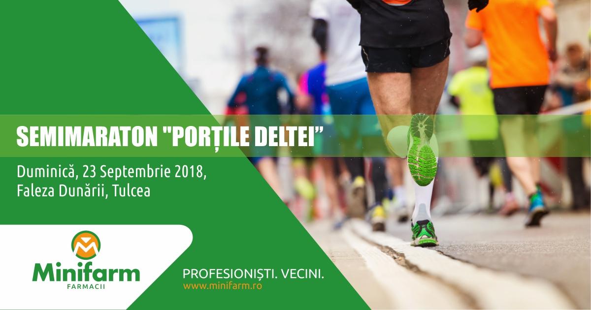 """Semimaraton """"Porțile Deltei"""" – Tulcea, 23 Septembrie 2018"""