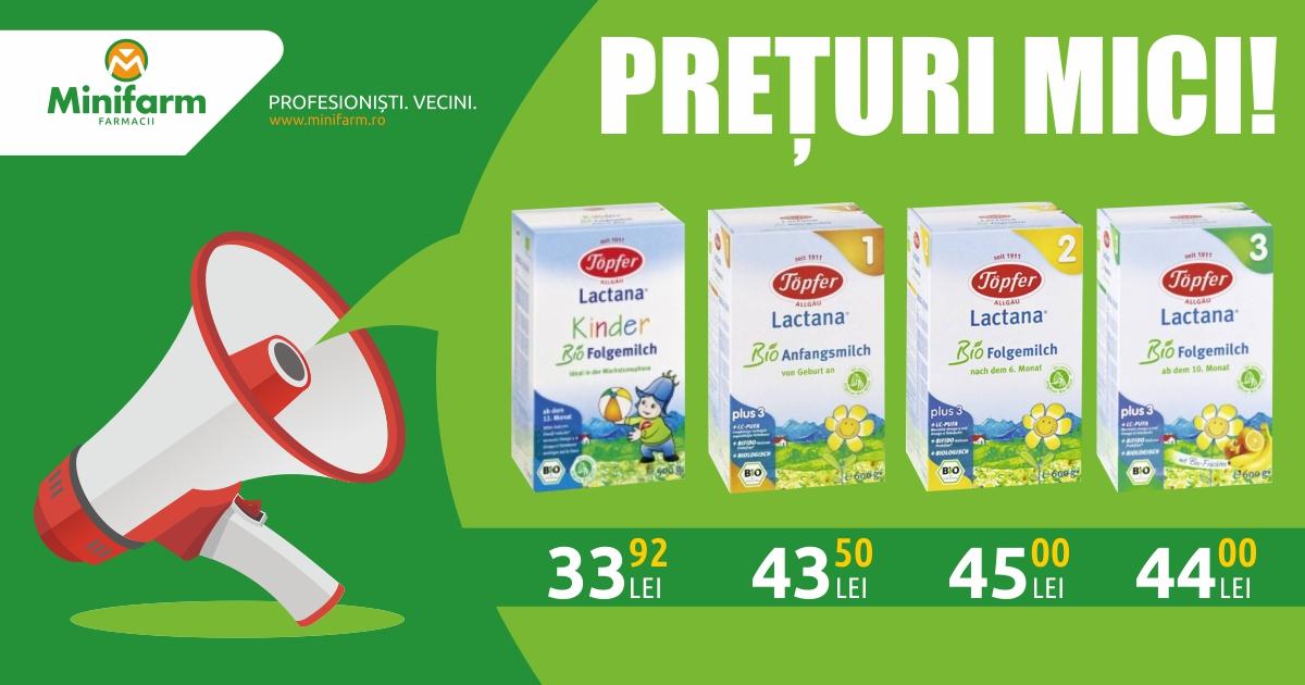 Prețuri mici pentru o dietă echilibrată!