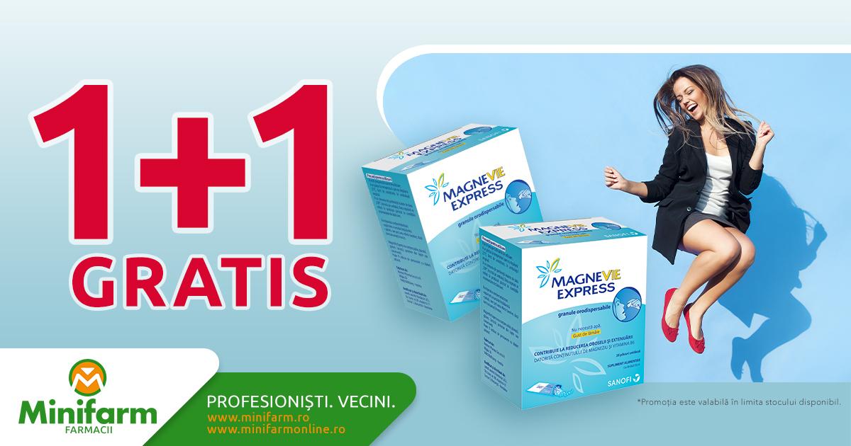 Cumperi o cutie de MagneVie Express și o primești pe a doua gratuit!