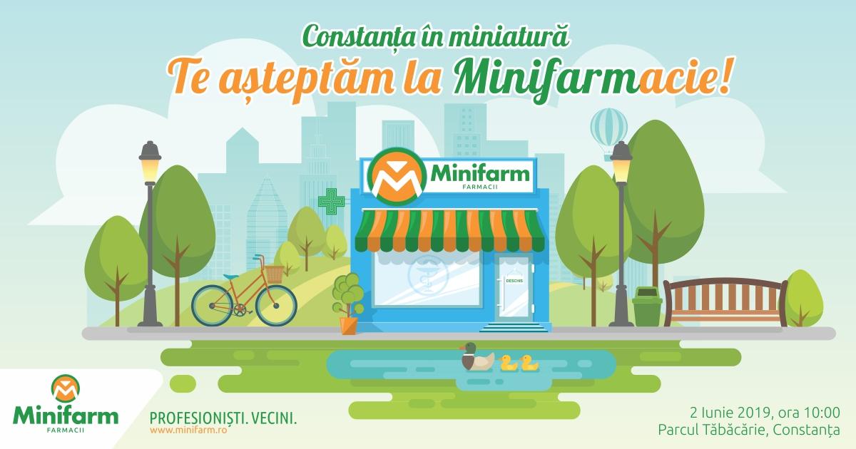 Te așteptăm la Minifarmacie!