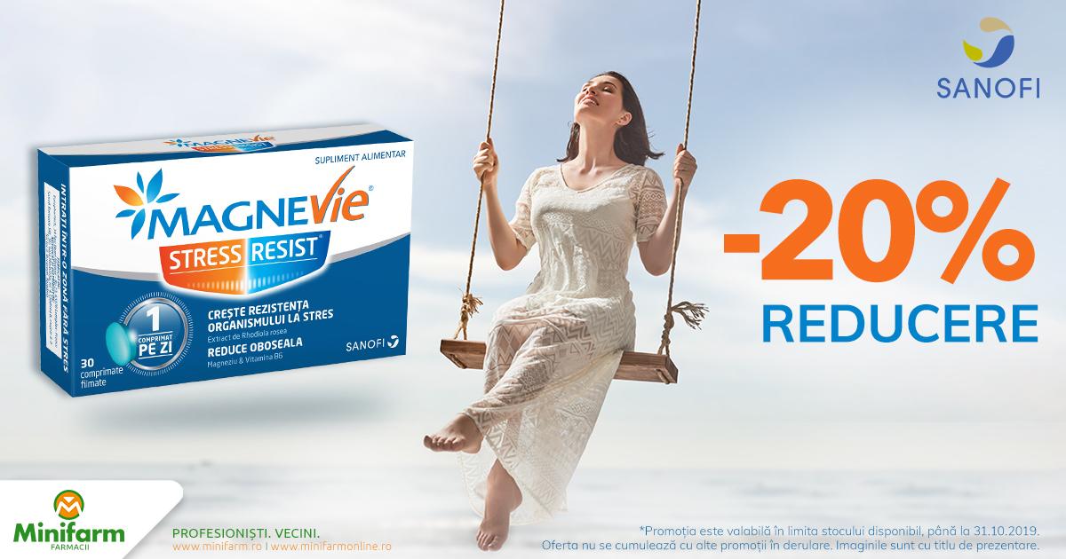 20% reducere la MagneVie Stress Resist