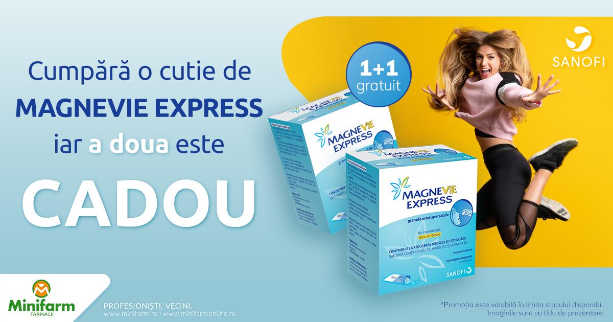 A doua cutie de MagneVie Express este CADOU!