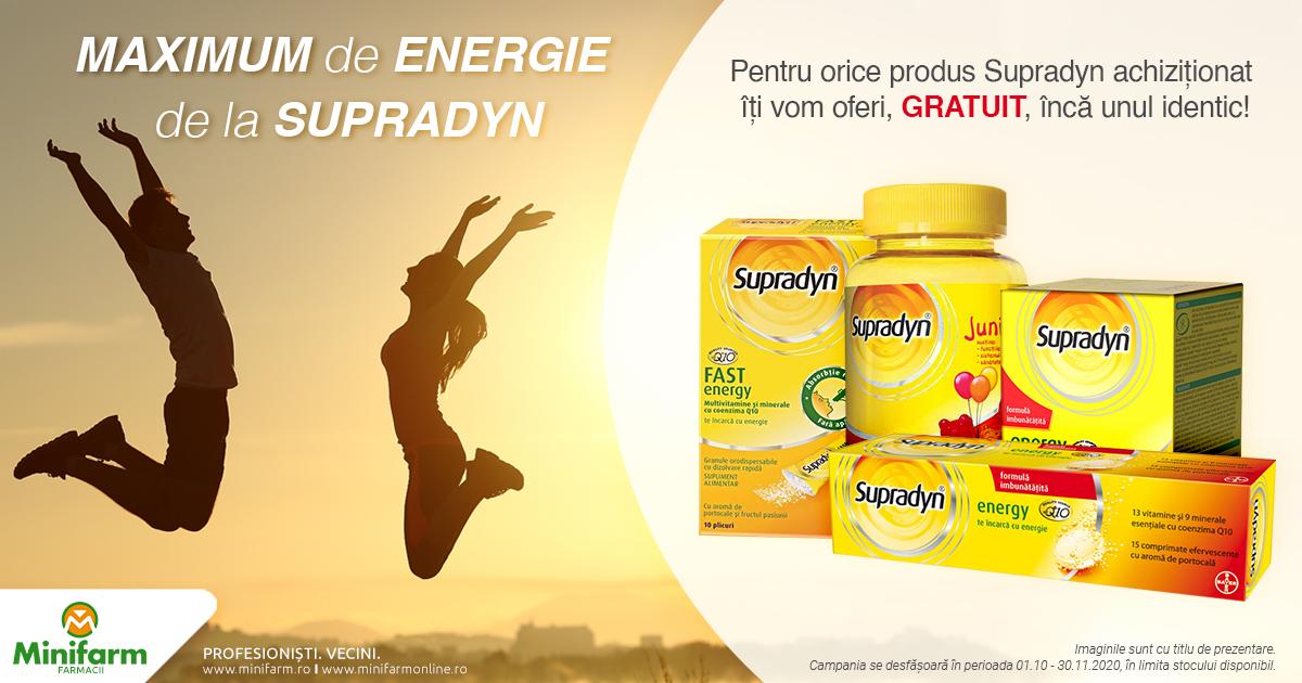Maximum de energie de la Supradyn!