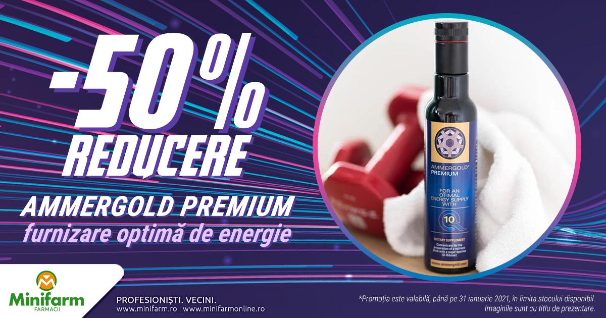 50% reducere pentru o furnizare optima de energie cu Ammergold Premium