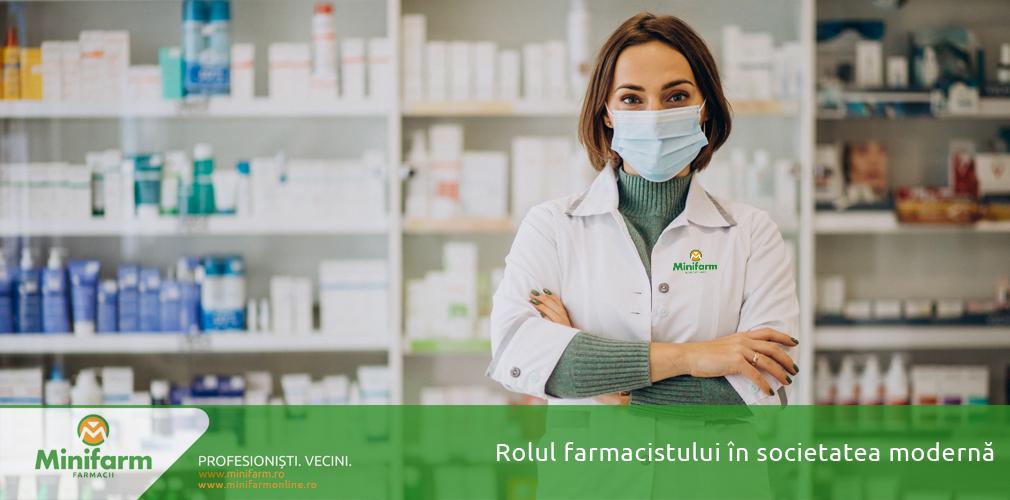 Rolul farmacistului în societatea modernă