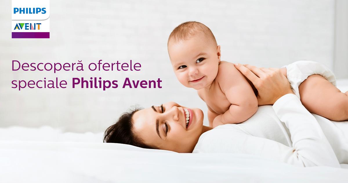 Descopera ofertele speciale de la Philips Avent