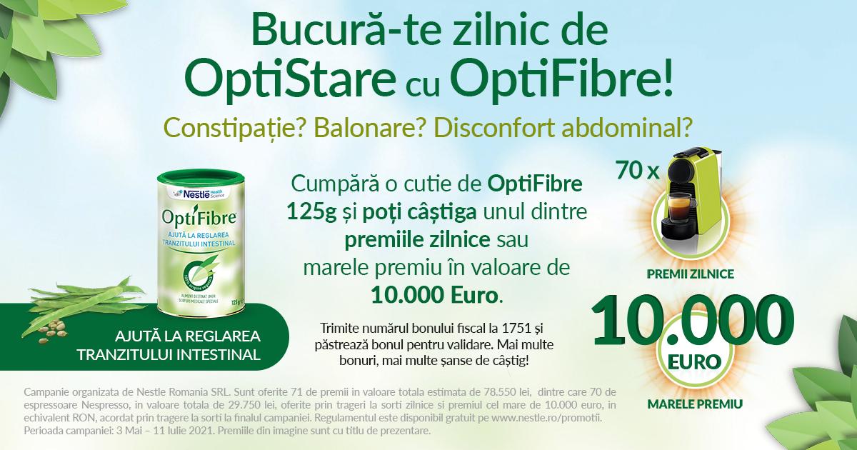 Bucura-te zilnic de OptiStare cu OptiFibre!