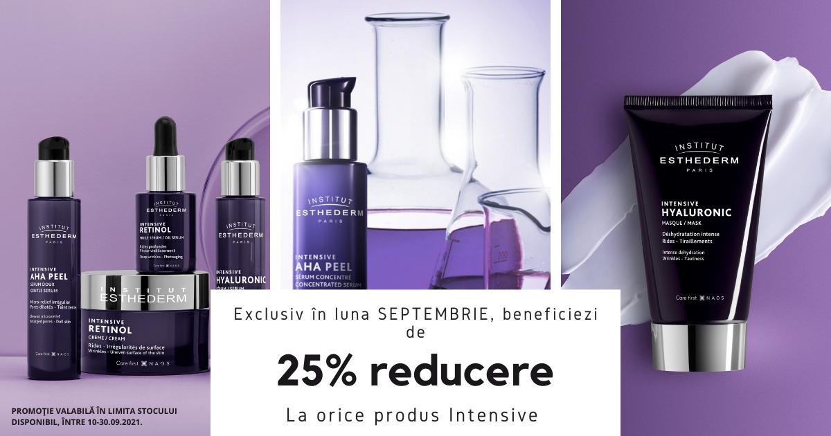 25% reducere pentru gama Intensive Hyaluronic, de la Institut Esthederm